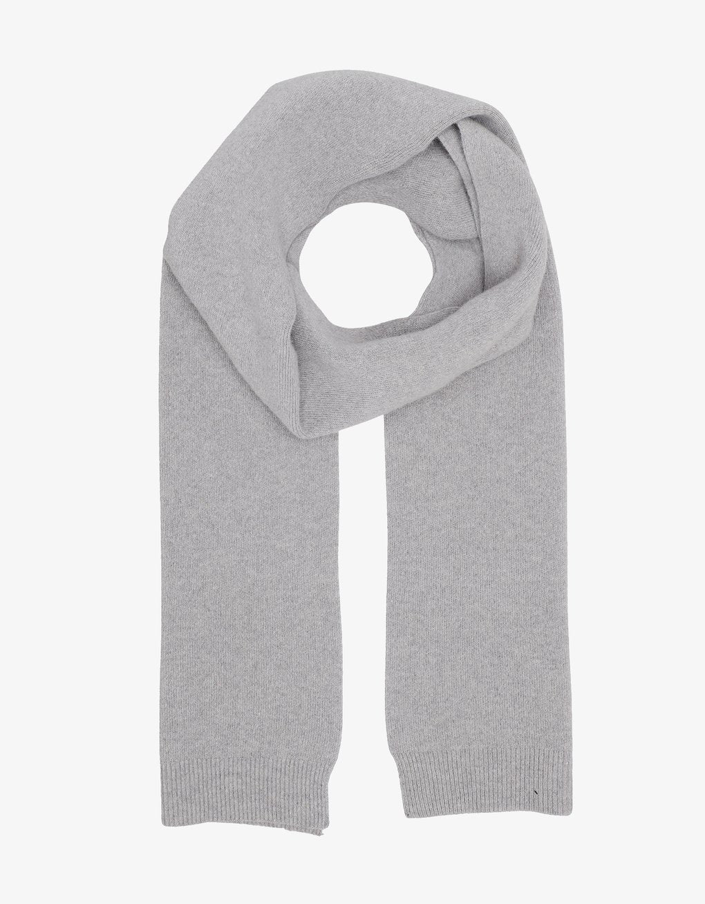 Merino Wool Scarf - Heather Grey
