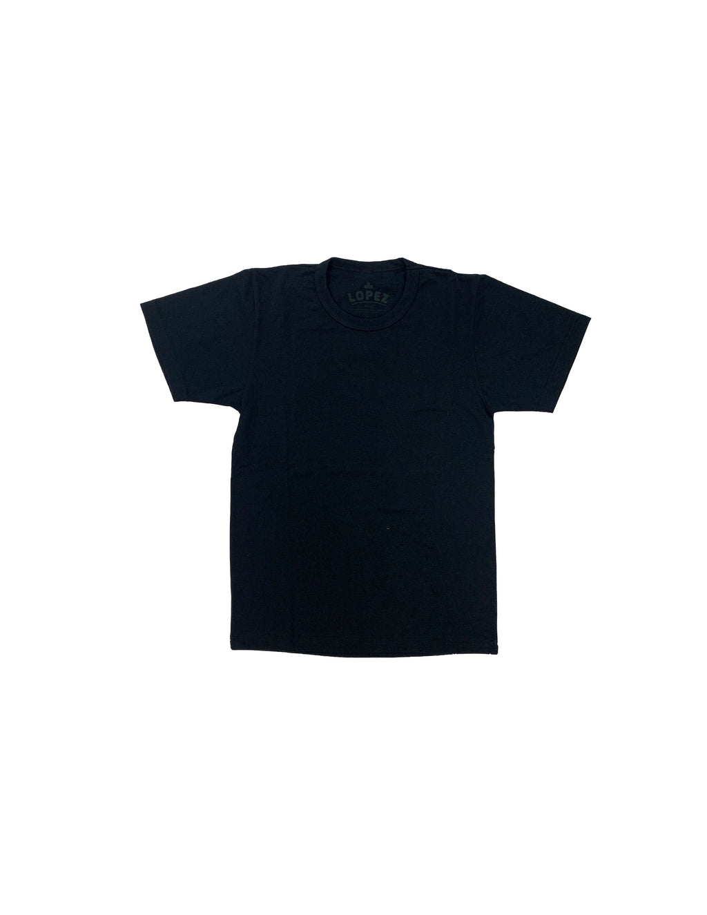 Recycled Blank Tee - Black