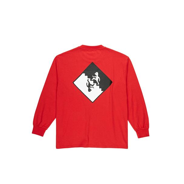 Staircase L/S Tee - Red
