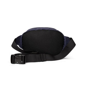 Star Cordura Hip Bag - Navy