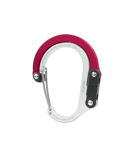 Heroclip Small Carabiner - Hot Rod Red