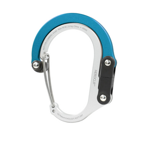 Heroclip Small Carabiner - Blue Steel