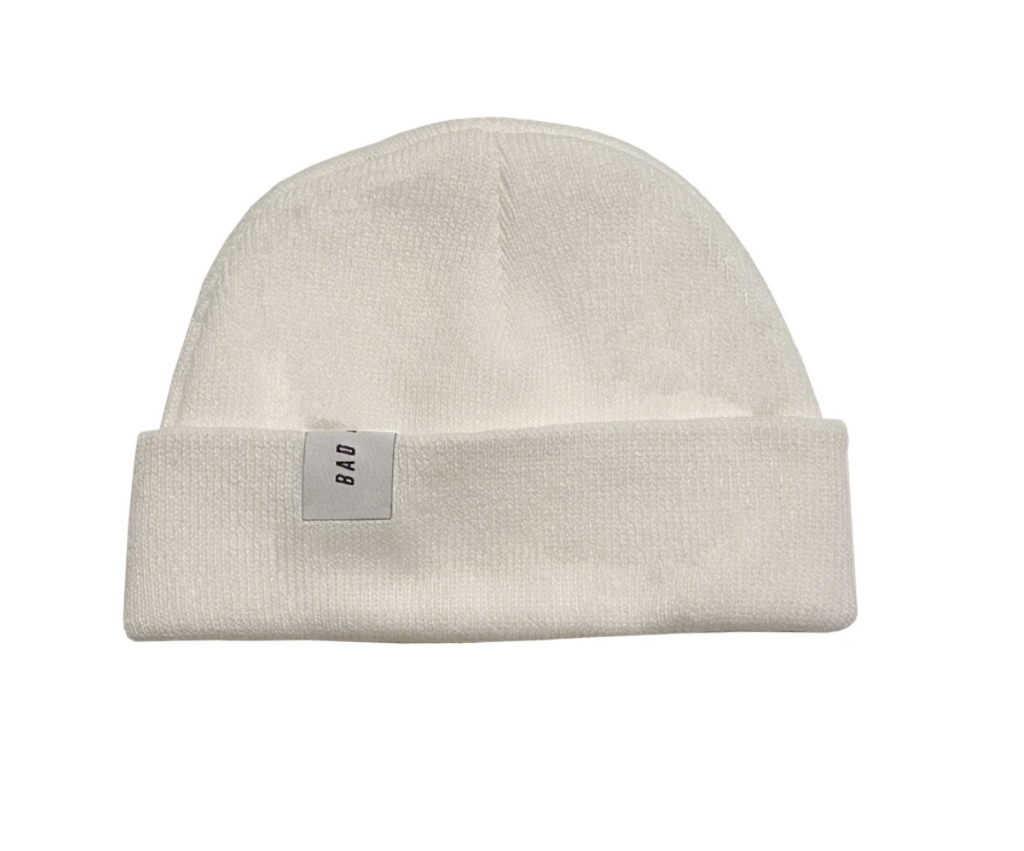 Low Profile Beanie - White