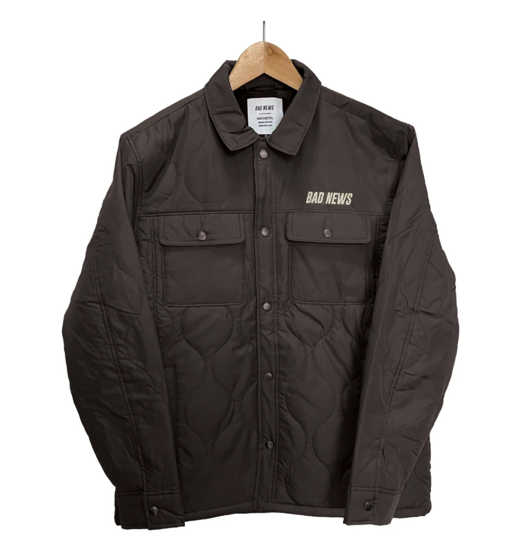 Classic Logo Quilted Jacket