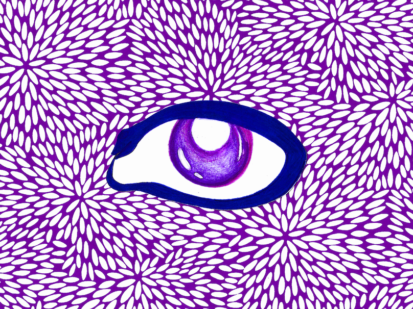 Purple Snake Eye