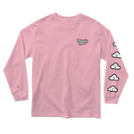 Cloudy Long-sleeve Tee - Pink