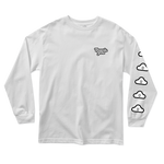 Cloudy Long-sleeve Tee - White