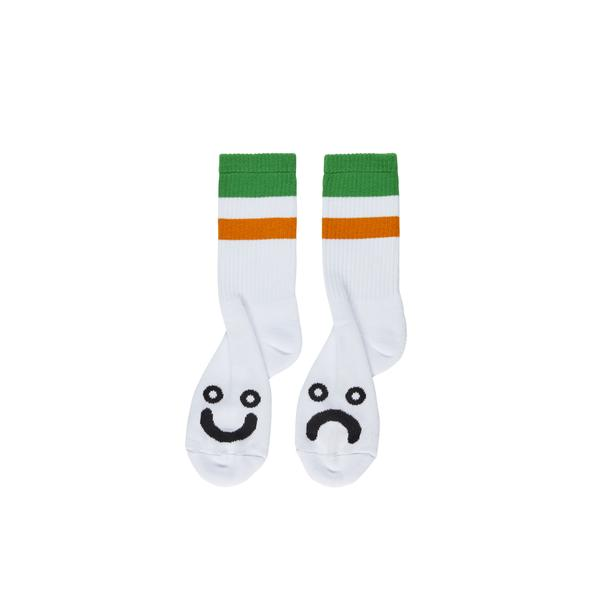 Happy Sad Socks Stripes - Green