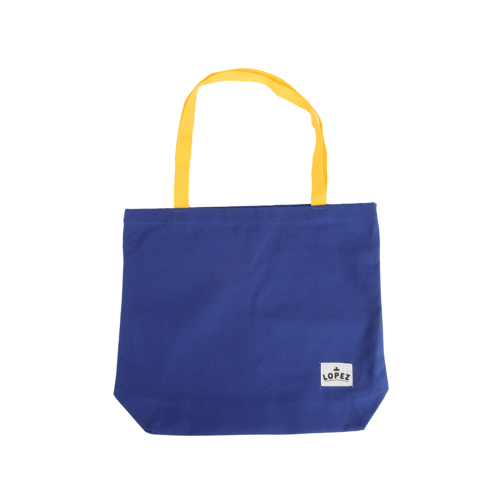 V2 Tote - Blue/Yellow