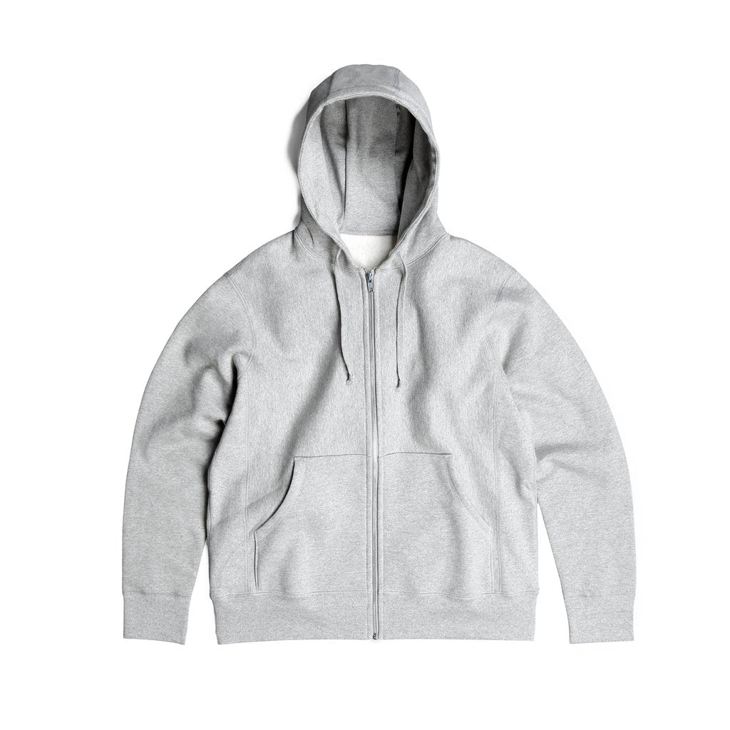 Standard Issue Zip-Up - Grey