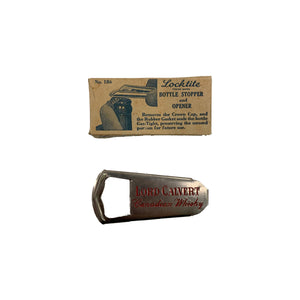 Lord Calvert Bottle Opener/Sealer