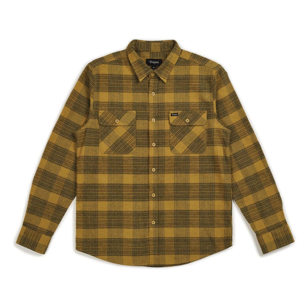 Bowery L/S Flannel - Avocado