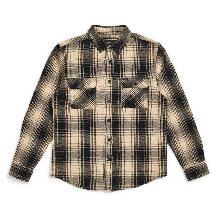 Bowery Flannel - Black/Bone