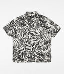 Lovitz S/S Shirt - Washed Black/Bone