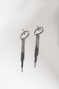 Cleopatra's Girlfriend Stud Loop Earrings