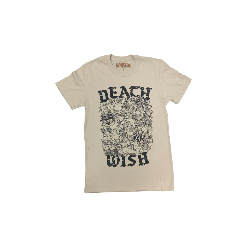 Death Wish Collage T-Shirt