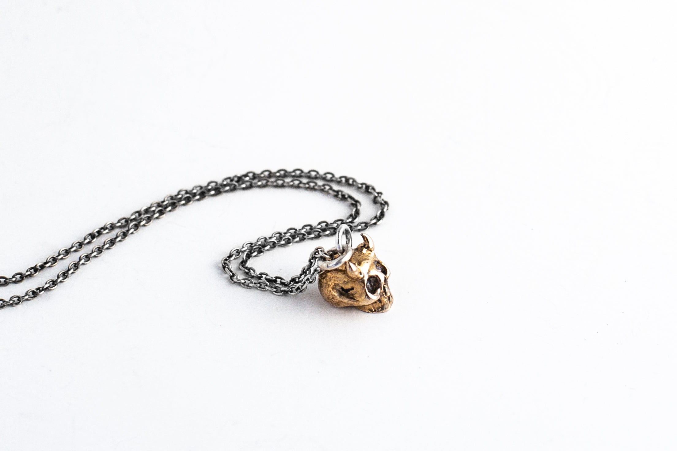 Gashadokuro Pendant Necklace - Bronze