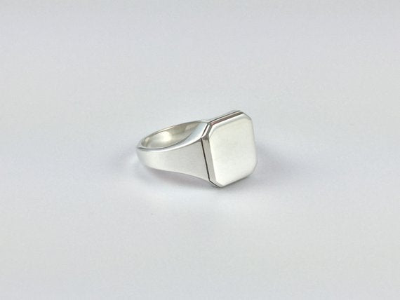 Square Vintage Signet Ring