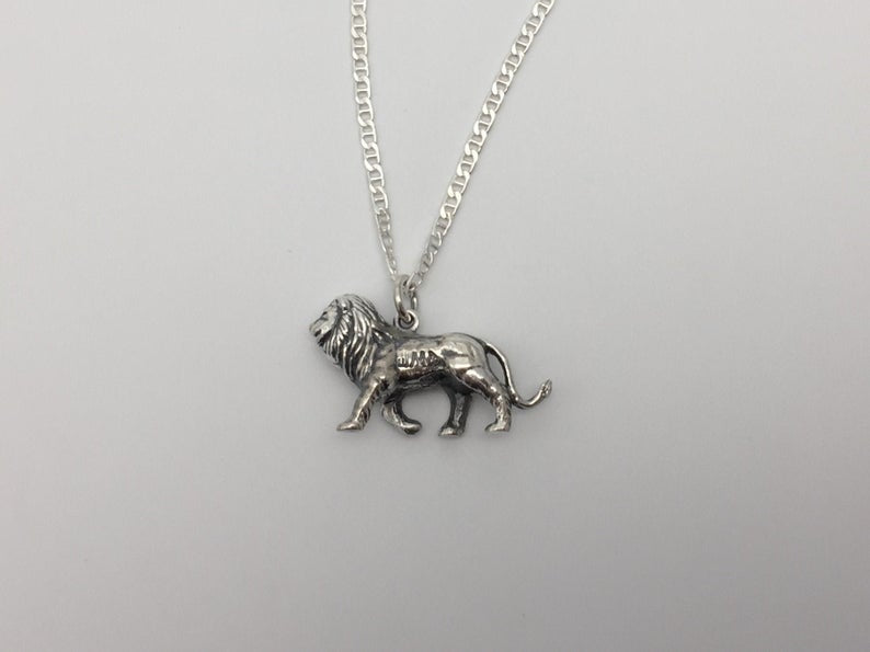Lion King Pendant and Chain