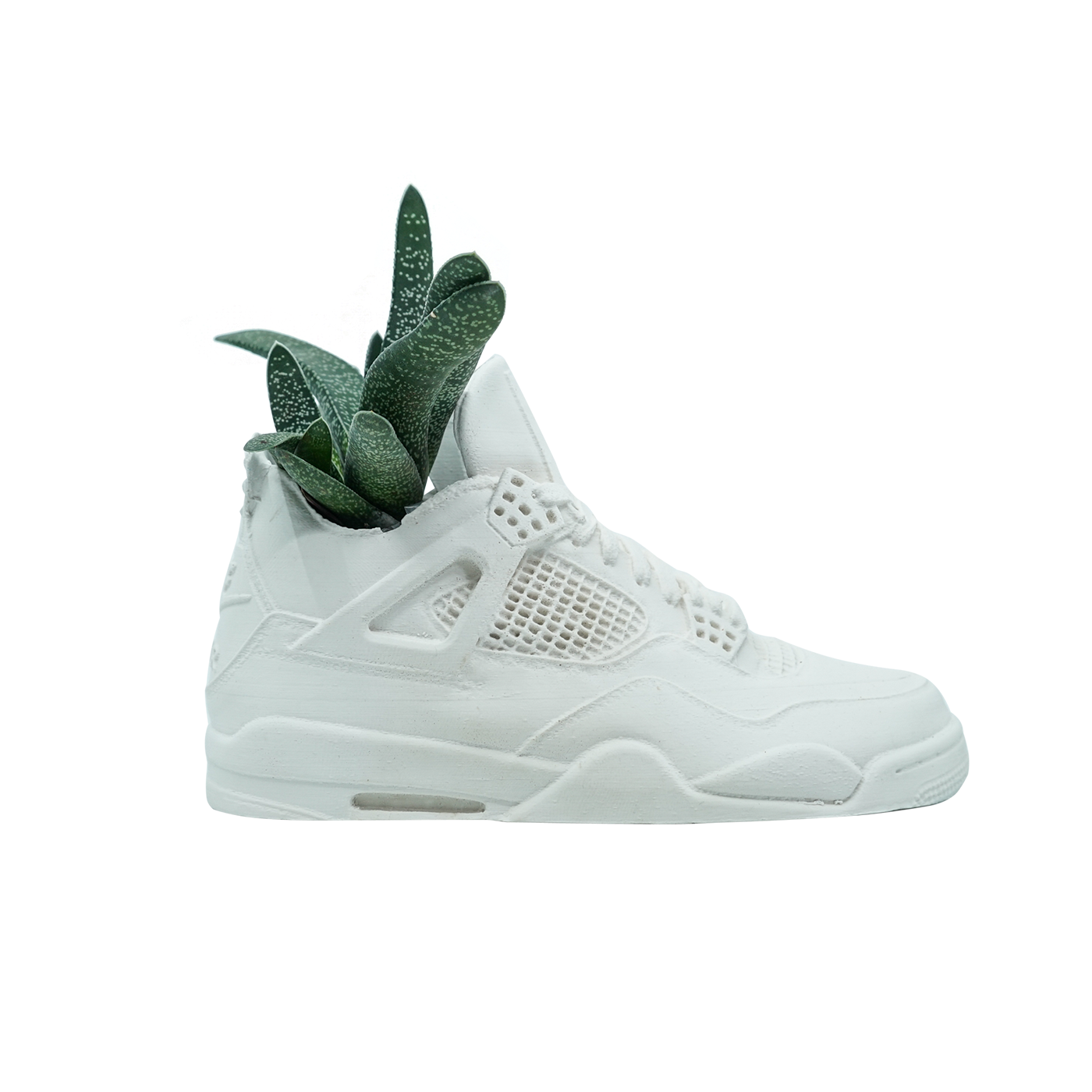 Jordan 4 Planter (White Cement, Single)