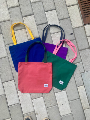 Lopez Tote V2 - Purple/Yellow