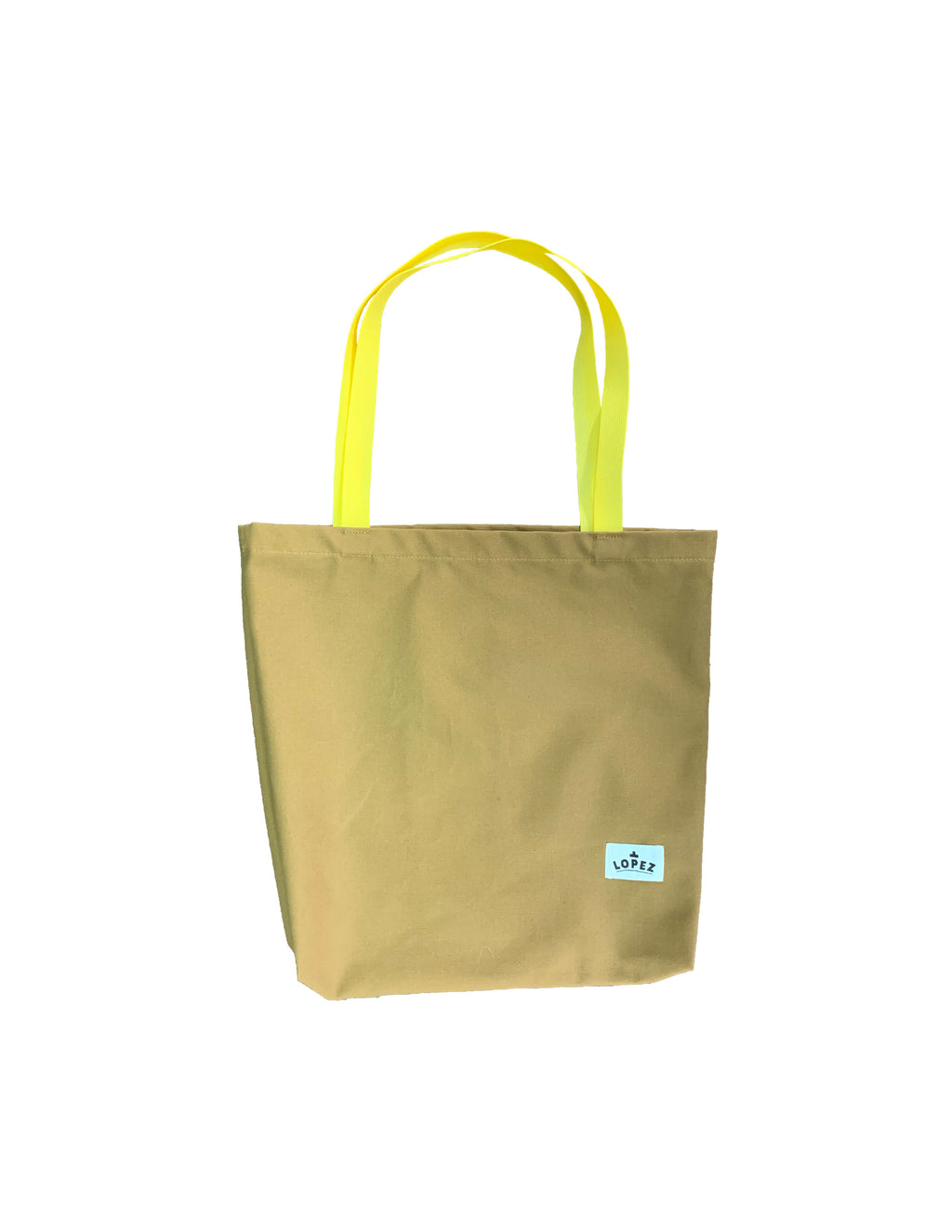 Shop Tote - Tan