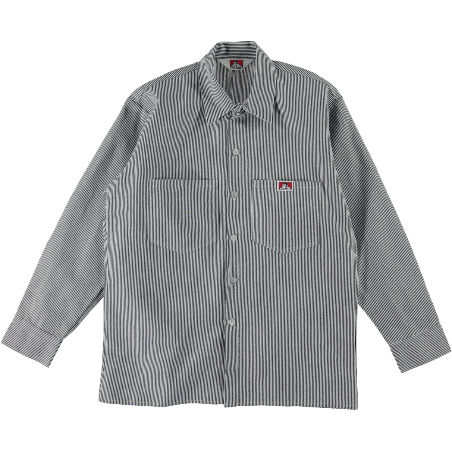 Work Shirt - Hickory Stripe
