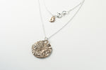 Love You To The Moon And Back Pendant Necklace - Bronze