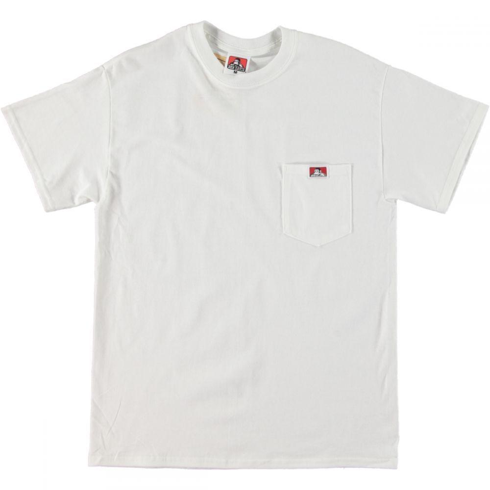Heavy Duty Pocket Tee - White
