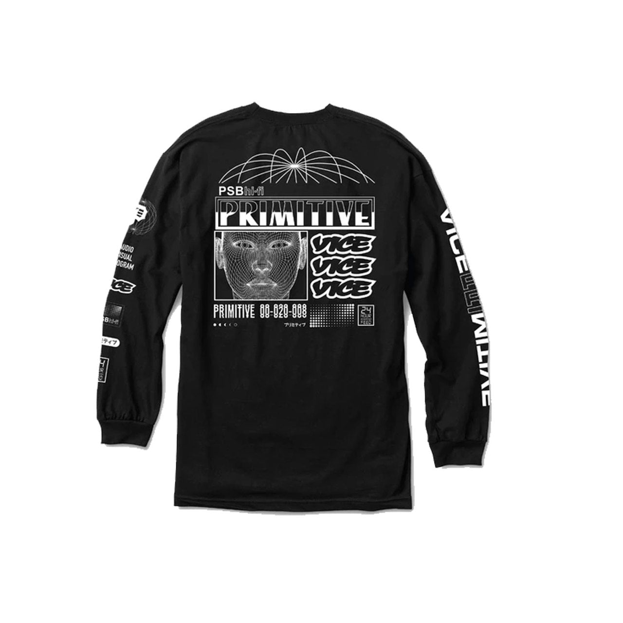 Primitive x Vice Long Sleeve Tee