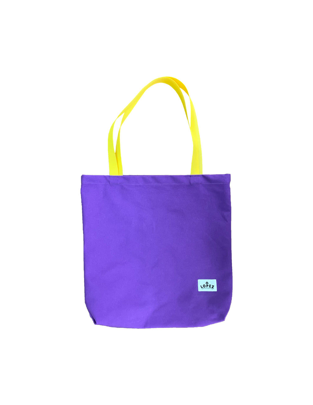 Shop Tote - Purple