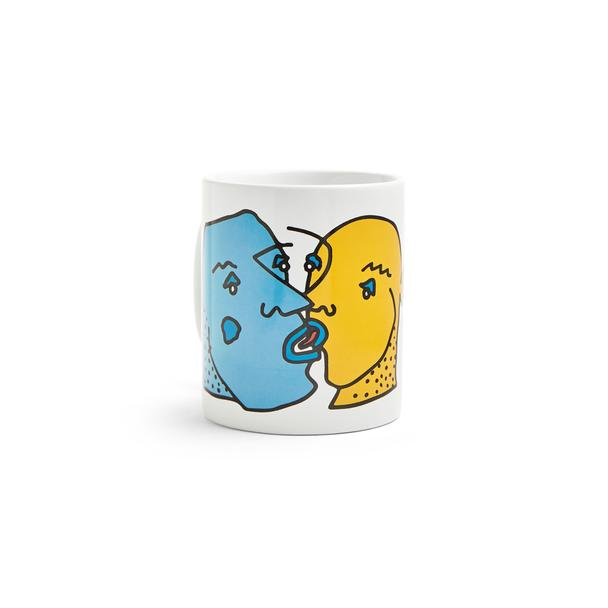 Kissing Faces Mug