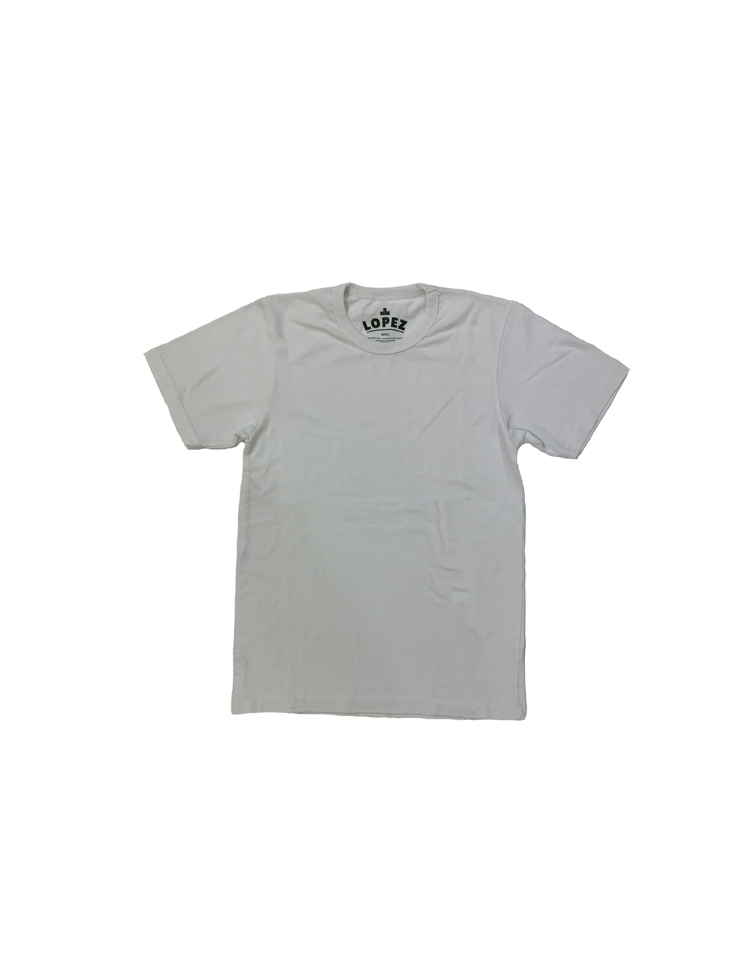 Recycled Blank Tee - White