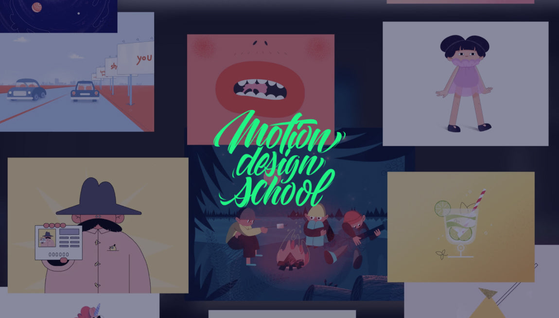 Motion Design Masterclasses - Best Online Motion Graphic