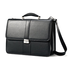 Leather Business Cases Flapover Leather Business Case