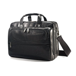 Colombian Leather 2 Pocket Business Case
