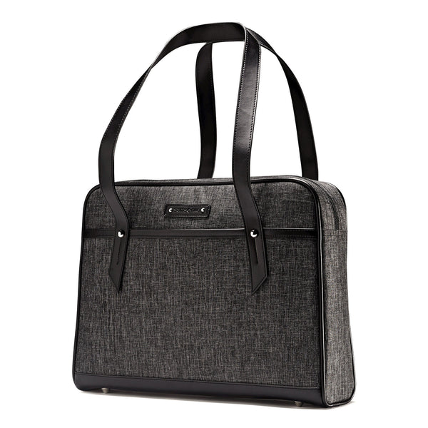 Women's Heathered Slim Briefcase