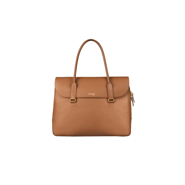 Plume Elegance Laptop Tote Bag