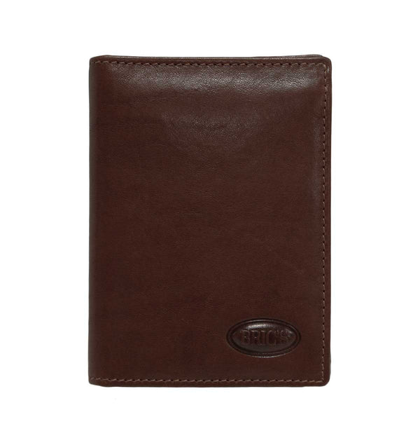 Monte Rosa Flip-Up Vertical Wallet With Id