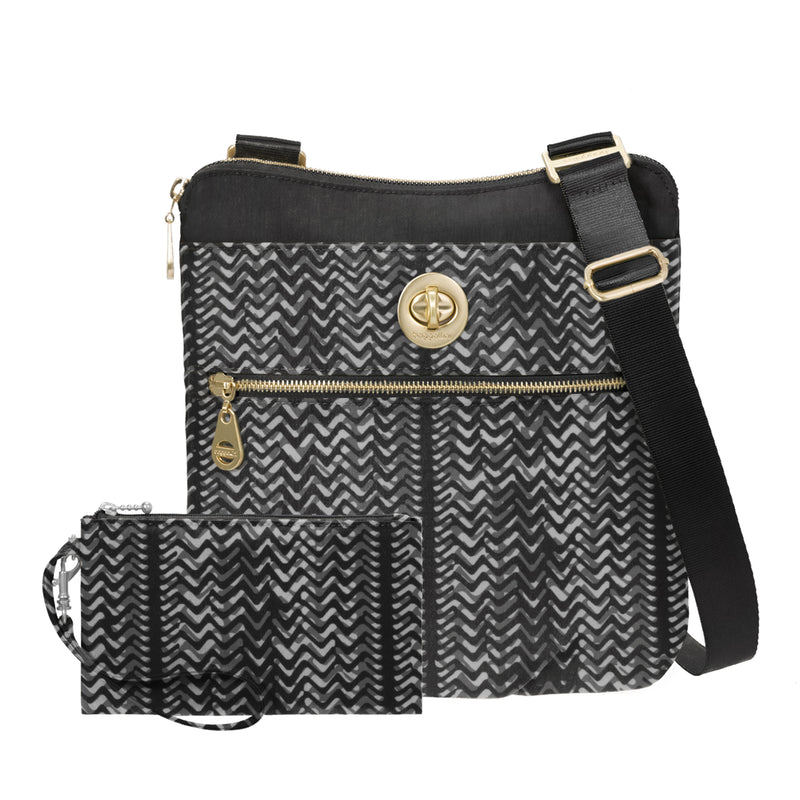 Hanover Crossbody with RFID Phone Wristlet