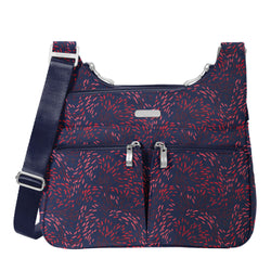 Crossover Crossbody with RFID Phone Wristlet