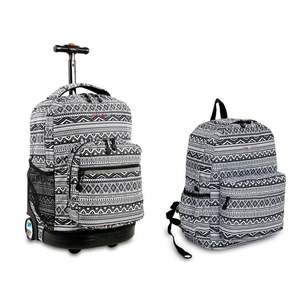 Sunrise Rolling Backpack & Oz Backpack Set