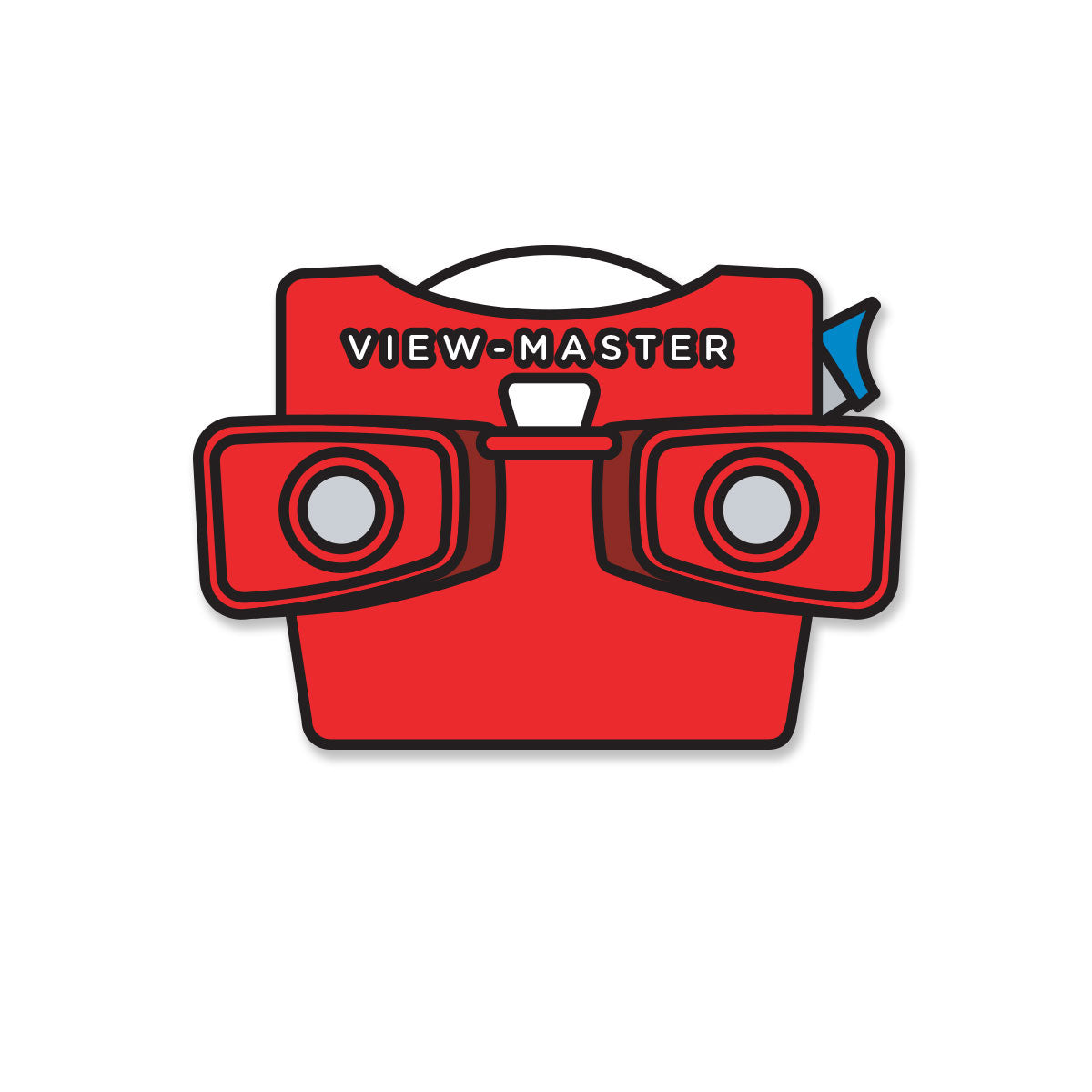 Retro Toy 3D Viewer Pin