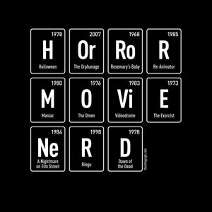 Horror Movie Nerd Tee