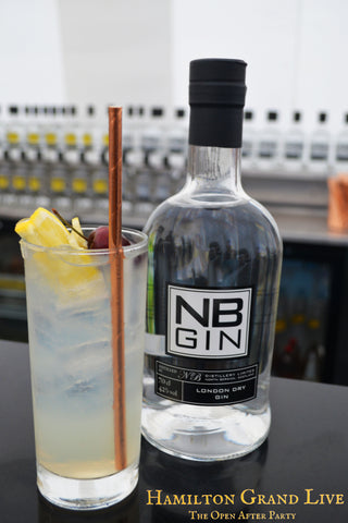 The Molinari cocktail, NB Gin