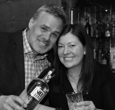 Steve and Viv Muir, owners of NB Distillery