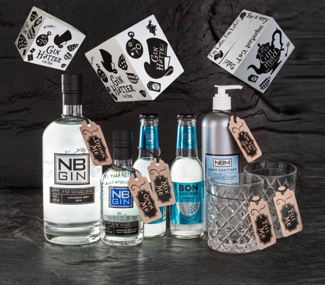 THE GIN HATTER PACK - 2 GLASS PACK