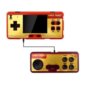 Retro Family Pocket Game Console (600+ 8bit games pre-installed)