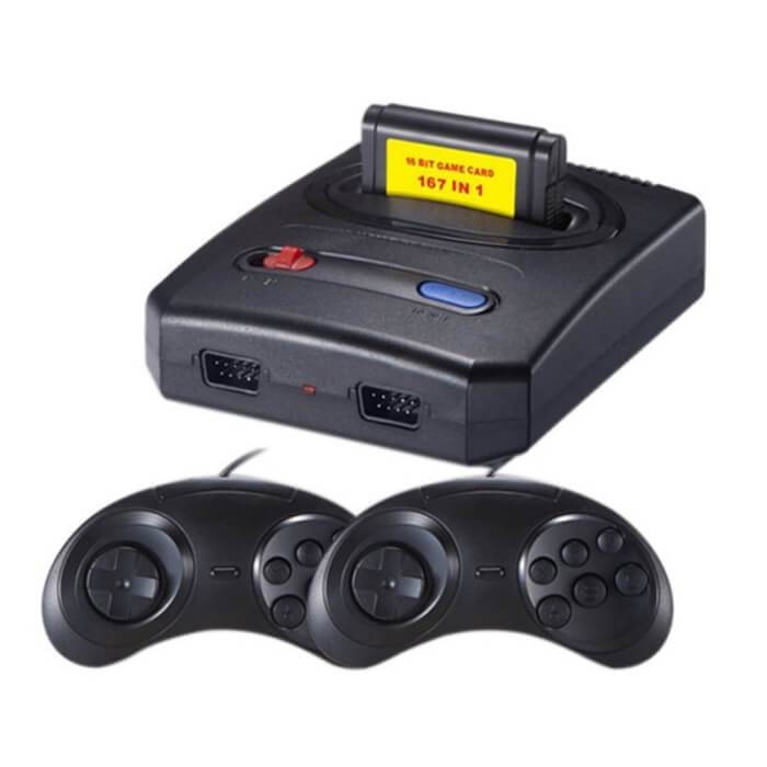 Super Sega Game Console (167 in 1 games)