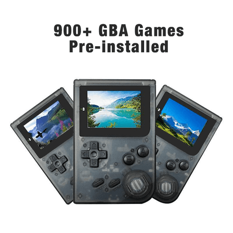 Image of RetroBoy Advance Console (900+ GBA Games Pre-installed)